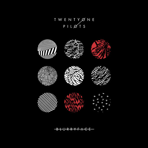 Blurryface Album Cover Twenty One Pilots Band T Shirt