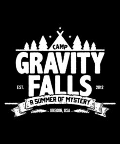 Camp Gravity Fall Graphic Tees