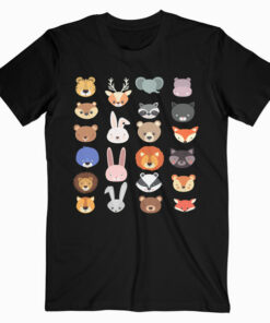 Character Faces Animal T Shirt