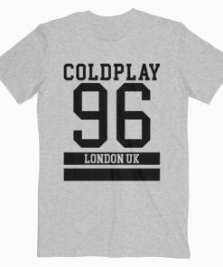 Coldplay 96 London Uk Band T Shirt