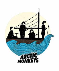 Crying Lightning Arctic Monkeys Band T Shirt