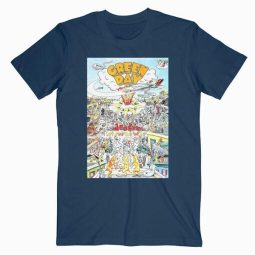 Cvr Dookie Green Day Band T Shirt