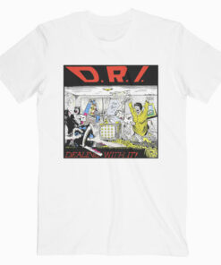 DRI Dirty Rotten Imbeciles Dealing With It Band T Shirt