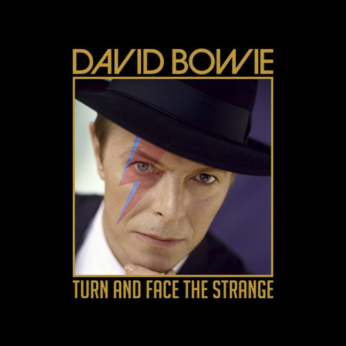 David Bowie Turn And Face The Strange Band T Shirt