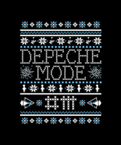 Depeche Mode Ugly Sweater Christmas Band T Shirt