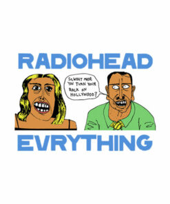Everything Radiohead Band T Shirt