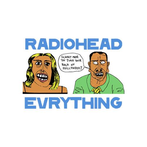 Everything Radiohead Band T Shirt