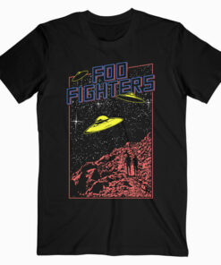 Foo Fighters UFO Band T Shirt