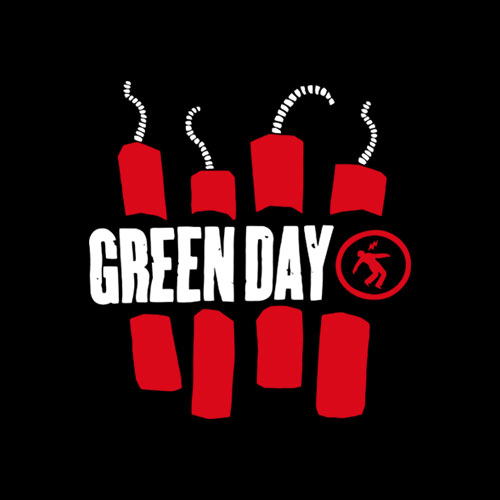 Green Day Band T Shirt