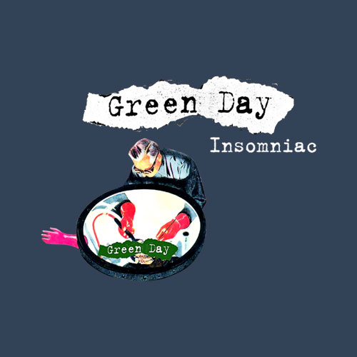 Green Day Insomniac Band T Shirt