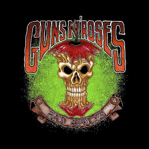 Guns N Roses Bad Apples T Shirt
