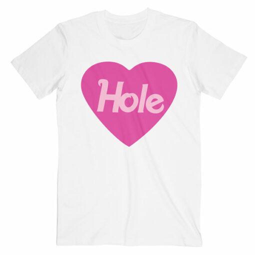 Heart Logo Courtney Love Hole Band T Shirt