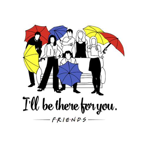 I'll be There for You Friends T Shirt