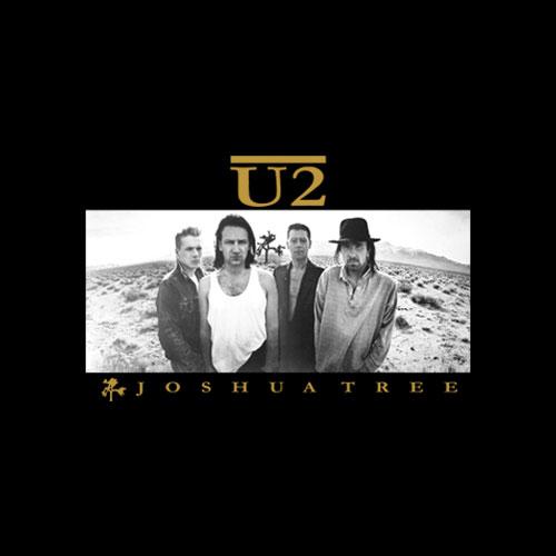 Joshua Tree U2 Band T Shirt