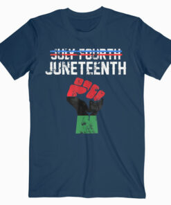 Juneteenth Shirt Black History American African Freedom Day T-Shirt
