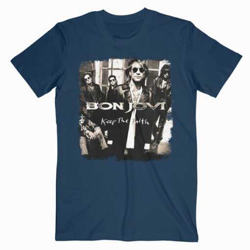 Keep The Faith Bon Jovi Band T Shirt