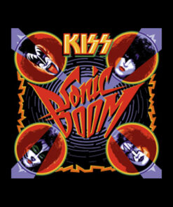 Kiss Sonic Boom Band T Shirt
