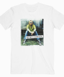 Kurt Cobain Nirvana Band T Shirt