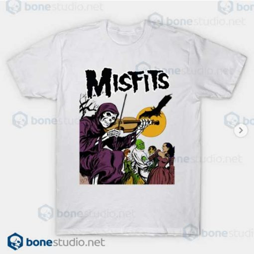 Misfits Legacy of Brutality Band White T Shirt