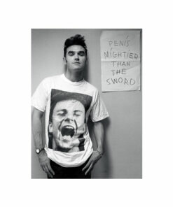 Morrissey Penis Mighter Than The Sword Band T Shirt