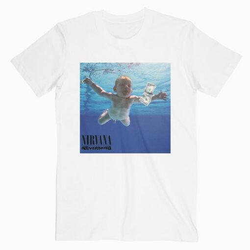 Nevermind Nirvana Band T Shirt