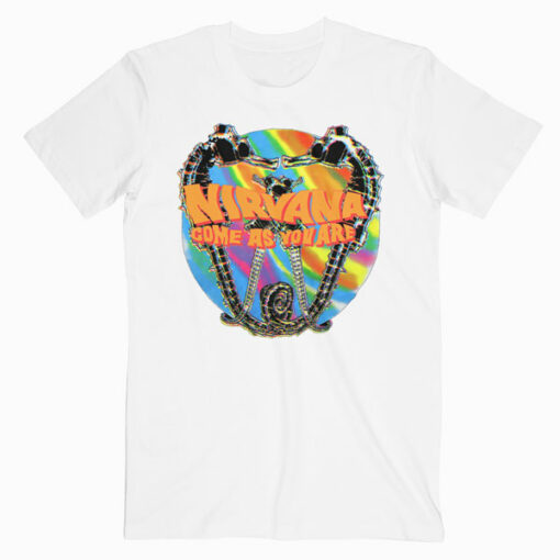 Nirvana 1992 Come As You Are Band T Shirt