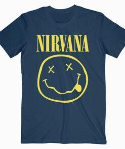 Nirvana Logo Band T Shirt