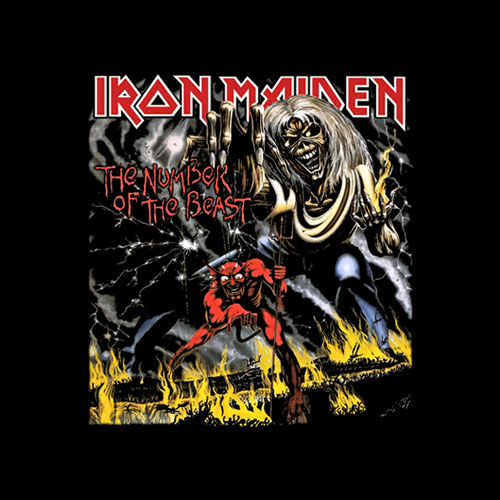 Number Of The Beast Iron Maiden Band T Shirt