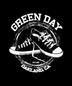 Oakland Ca Est 1987 Green Day Band T Shirt