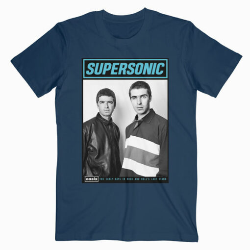 Oasis Supersonic Band T Shirt