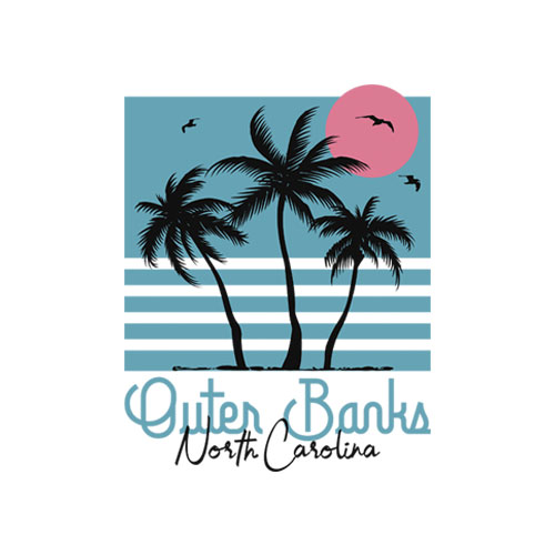 Outer Banks North Carolina Vintage T Shirt
