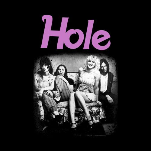 Photo Hole Band T Shirt
