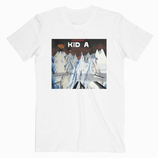 Radiohead Kid a Band T Shirt