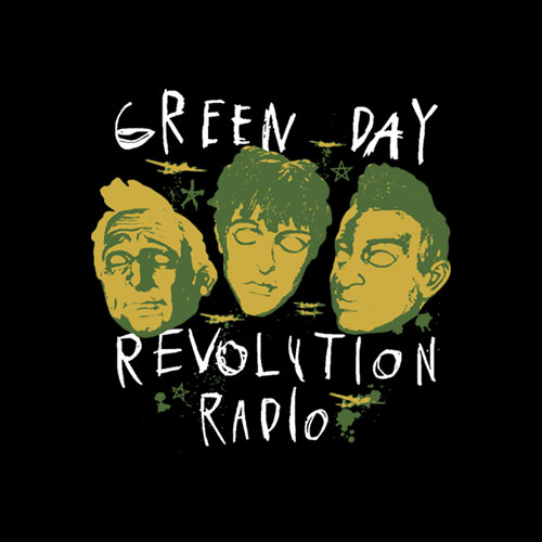 Revolution Radio Green Day Band T Shirt