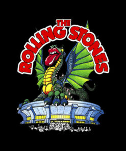Rolling Stones Dragon Band T Shirt
