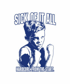 Sick Of It All Hardcore From The Start Band T Shirt