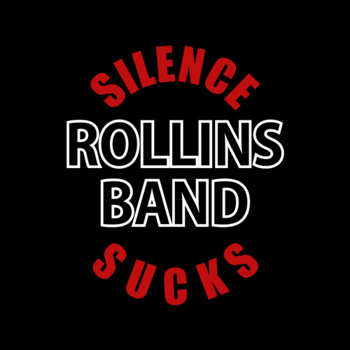 Silence Sucks Rollins Band T Shirt