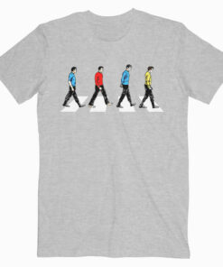 Star Trek Tribute To The Beatles Abbey Road T Shirt