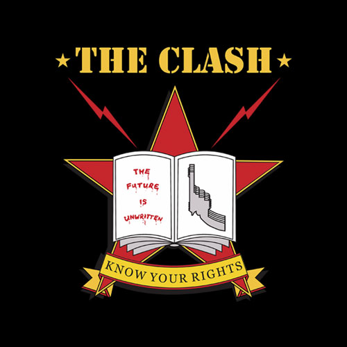 The Clash 1982 tour Band T Shirt