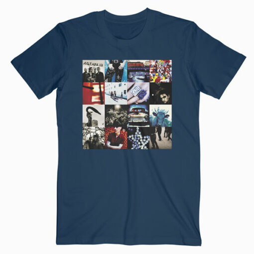 U2 Achtung Baby Band T Shirt