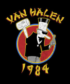 Van Halen 1984 Tour Band T Shirt