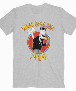 Van Halen 1984 Tour Band T Shirt