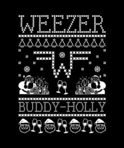 Weezer Band Ugly Sweater Band T Shirt