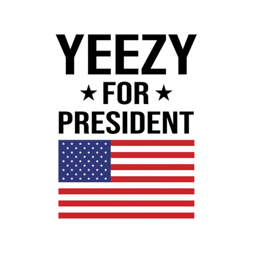 Yeezy For President Band T Shirt