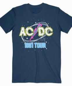 ACDC Live 1981 Tour Band T Shirt