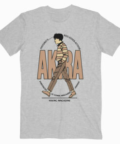 Akira Anime Young Magazine T Shirt