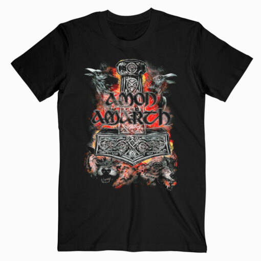 Amon Amart Warriors Of The North Band T Shirt