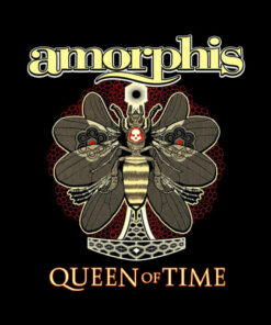 Amorphis Queen On Time Band T Shirt