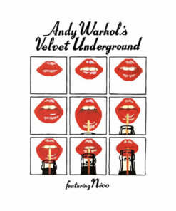 Andy Warhol's Velvet Underground Featuring Nico Music Poster Band T Shirt