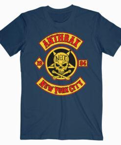 Anthrax New York City Band T Shirt